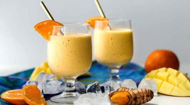 Ginger Turmeric Smoothie: